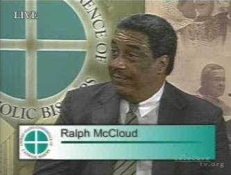 Ralph McCloud, director of the Catholic Campaign for Human Development (CCHD)